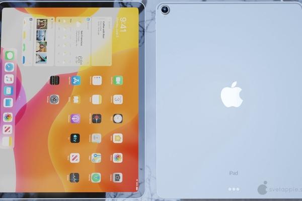 """""""Rò rỉ"""" hình ảnh iPad Air 4 cho thấy thiết kế tràn màn hình, USB-C và Touch ID"""