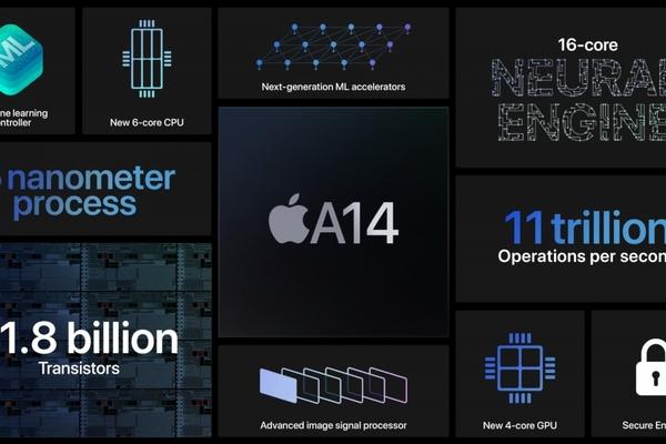 iPhone 12 chưa ra mắt nhưng Apple đã công bố chi tiết con chip A14