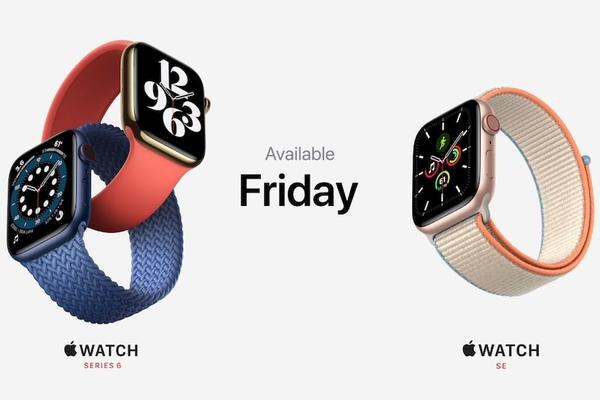Apple Watch Series 6 ra mắt thêm màu đỏ nổi bật cùng tính năng đo oxy trong máu