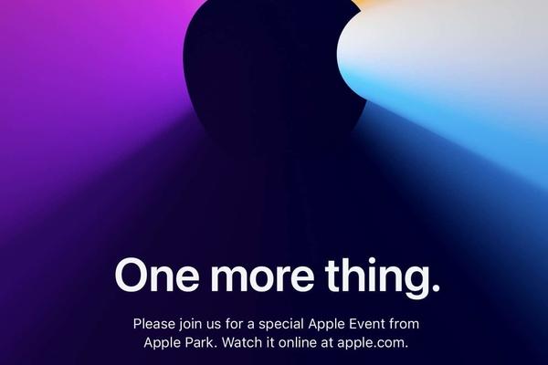 """Apple công bố sự kiện Apple Silicon Mac """"One More Thing"""" vào ngày 10 tháng 11"""