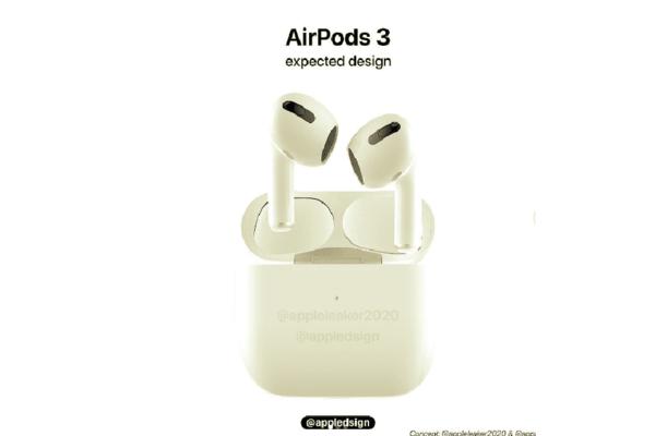 Chiêm ngưỡng concept mới nhất về tai nghe AirPods 3 sắp được Apple ra mắt