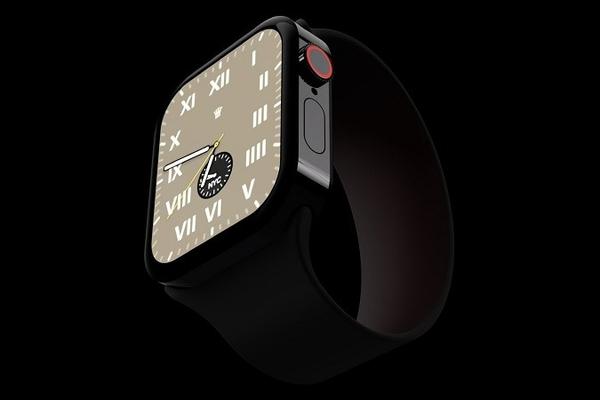 Apple Watch Series 7 với thiết kế cạnh phẳng cực đẹp