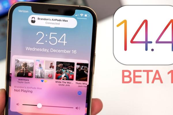 Apple phát hành iOS 14.4 và iPadOS 14.4 beta 1