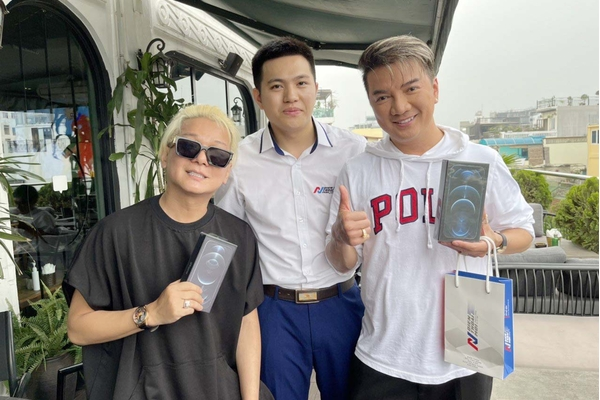 Cảm ơn ca sĩ Đàm Vĩnh Hưng và ca sĩ Vũ Hà đã tin tưởng sản phẩm của Điện Thoại Mới !