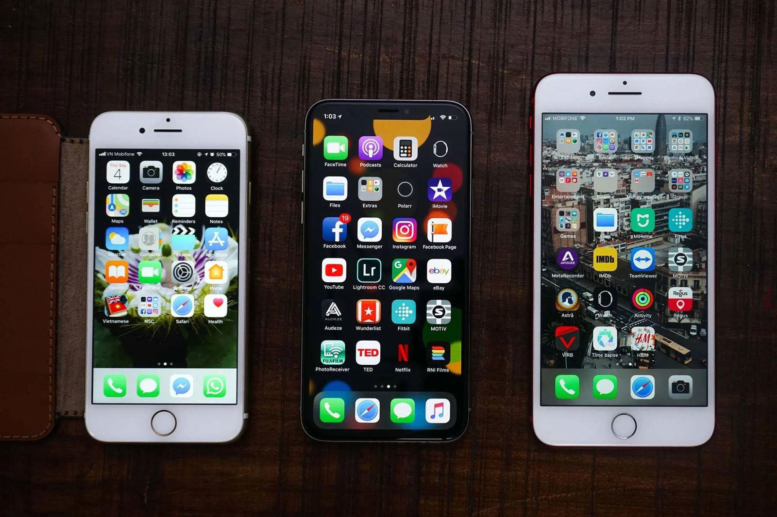 Màn hình iPhone zin dễ quan sát được bằng mắt thường