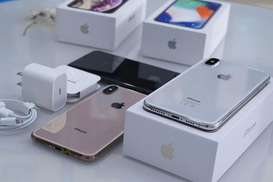 iPhone Xs Max cũ có thiết kế mặt lưng kính ấn tượng
