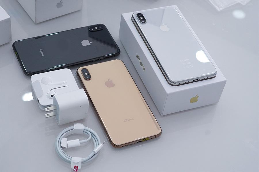 iPhone Xs Max cũ là sản phẩm đầu tiên Apple trang bị màn hình OLED