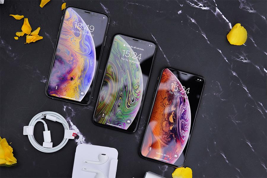 Màn hình OLED trên iPhone Xs Max ATO cho hiển thị sắc nét